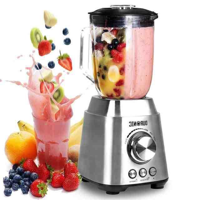 Quel appareil pour mixer les fruits ?