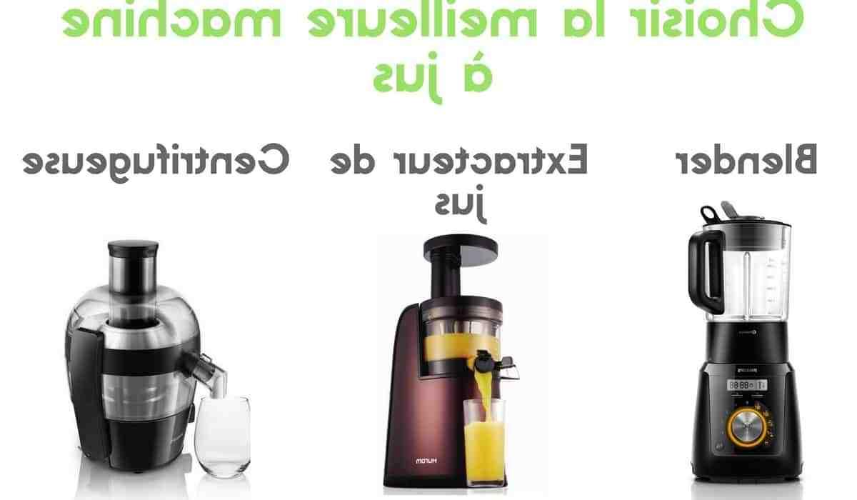 Quelle différence y A-t-il entre un extracteur de jus et une centrifugeuse ?